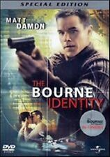THE BOURNE IDENTITY - SPECIAL EDITION - MATT DAMON - DVD