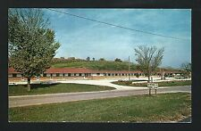 Decorah Iowa IA 1961 Deluxe M otel on Hwy 9 & 52, now replaced with Bigger Hotel