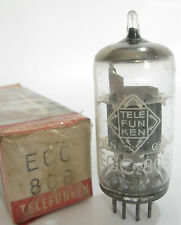 1966 Telefunken genuine    ECC808    tube - New Old Stock / New In Box B8106201