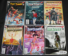 Modern DC TEEN TITANS: YEAR ONE 6pc Count High Grade Comic Lot Robin Kid Flash