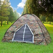 Gazelle Camouflage Camping Hiking Easy setup Instant Pop Up Tent 2-3 Person