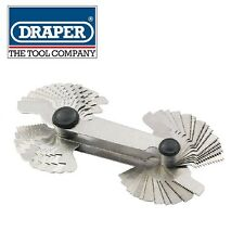DRAPER 52 BLADE 0.25-6MM AND 4-62 BSW SCREWPITCH GAUGE SET 51072