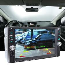 """2DIN 6.5"""" HD In Dash Car TouchScreen Bluetooth Stereo MP3 MP5 Player USB/TF/AUX"""
