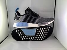 ADIDAS NMD R1 US 9.5 PK CLEAR BLUE S79159 OG UNCAGED WOOD BOOST