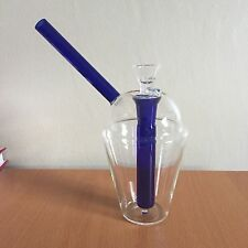 "7"" Glass Water Hookah Bubbler + 14mm Glass Bowl"