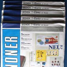 Lindner T-Blanko 802404 3x OVP Pack = 30 Blätter