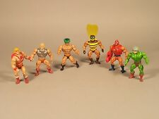 Masters of the Universe MOTU  HE-MAN Action Figures Lot of 6 From early 1980's