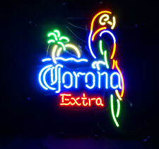 Corona Extra Parrot Beer Bar Party Poster Handmade LED Neon Sign Light ME013B