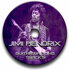 JIMI HENDRIX ROCK STIL MP3 GITARRE PLAYBACK TITEL COLLECTION JAM TITEL CD