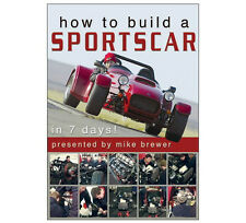 Duke - HOW TO BUILD A SPORTSCAR IN 7 DAYS DVD - Westfield Megabusa Car - New