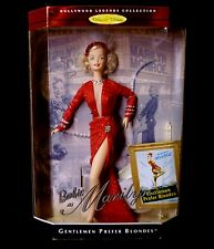 "Mattel Toys DC Comics Barbie Doll as Marilyn Monroe 12""  Legends Red Dress 1997"