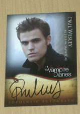 2012 Crypt Vampire Diaries Season 1 autograph Paul Wesley as Stefan Salvatore A2