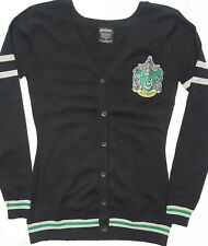 hot topic harry potter slytherin witch wizard hogwarts cosplay cardigan size xs