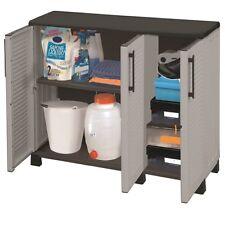 Kunststoffschrank Gartenschrank Haushaltsschrank Werkstattschrank klein XL