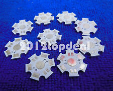 20pc 20mm 3w High Power 4pin RGB LED PCB Aluminum Star base plate Circuit board