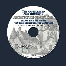 Castles and domestic architecture of Scotland 12-18 century – Ebooks 5 PDF 1 DVD