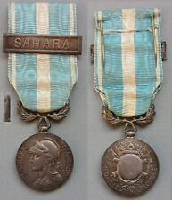 medaille militaire coloniale SAHARA à clapet  french military medal