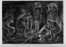 PITTSTON COAL MINE DISASTER MINERS PRAYER MEETING GRIEF 1871 COAL MINING HISTORY