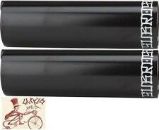 "SUBROSA CODE BLACK 3/8""--14MM AXLE BMX BICYCLE PEGS--1 PAIR"