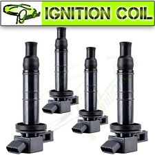 Pack of 4 New Ignition Coils Pack for 2001-2012 Toyota Camry Lexus Scion UF333