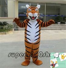 Halloween Tiger Animal Mascot Costume Fancy dress Event Cheerleading School Team