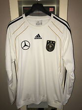 "DFB MERCEDES BENZ ""ORG.SPIELER ADIDAS CLIMAWARM WM 2010 "" SWEAT TOP SWEATSHIRT"
