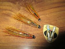 3 V Fly 3/4 Inch Alloy Willie Gunn Salmon Tube Flies & Trebles