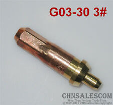 G03-30 3# Oxygen Propane Cutting Welding Torch Tip