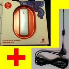 NEW+UNLOCKED 14.4mbps ZTE 3G USB Mobile Broadband Dongle/Modem + Aerial/Antenna