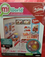 MiWorld Mrs Fields Cookie Shop Starter Set Playset 34 pcs NIB Mi World