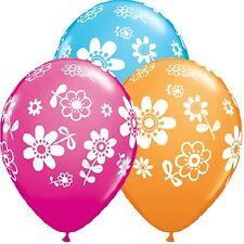 Party Supplies Mothers Birthday  Contempo Daisies  Latex Balloons Pack of 10