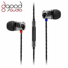 SoundMAGIC E10C AWARD WINNING IN-EAR SMARTPHONE MOBILE HEADPHONES SILVER & BLACK