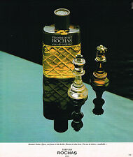 PUBLICITE ADVERTISING 015  1977  ROCHAS  eau de toilette homme MONSIEUR