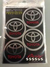 Adesivi copricerchi copri cerchi cerchioni coprimozzo ruota per Toyota