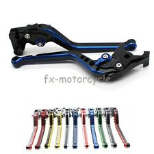 Stripe Brake Clutch Levers For Yamaha DT125RE 2004 - 2007 2005 2006 BLUE