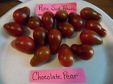 Chocolate Pear Tomato Seeds- Delicious- Comb. S/H See our store!