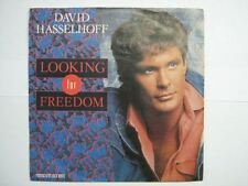 DAVID HASSELHOFF 45 TOURS GERMANY LOOKING FOR FREEDOM