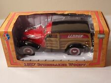 Lennox 1937 Studebaker Woody Diecast In Box