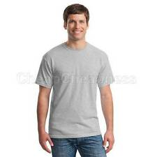 Mens T-Shirt Homelike Blank Basic Plain TEE Short Sleeve Man Cotton Tops TSUS