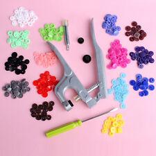150 Set KAM Button Fastener Snap PliersT5 Plastic Resin Press Stud Cloth Diaper