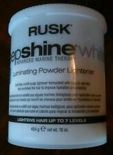 Rusk Deepshine White Luminating Powder Lightener 16oz