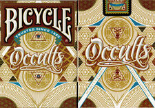 Bicycle Occults Playing Cards - Limited Edition - SEALED-