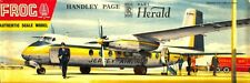 Frog 1:72 Handley Page Dart Herald Plastic Aircraft Model Kit #363PU