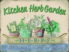 Kitchen Herb Garden, Food Home Cooking, Pub Cafe, bistro, Novelty Fridge Magnet