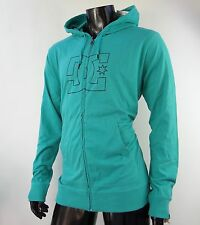 New Dc Shoes Skateboard ARC Teal Zip Up Mens Size Large MHD-29