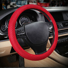 "Red No smell 38cm 15""  Summer 3D Sandwich Eva Rubber Car Steering Wheel Cover"