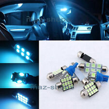 Ice Blue Interior LED Light Package 12PCS Fit 2005-2010 Chrysler 300 300C