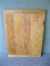 "Antique Dough Bread Board Breadboard Ends Primitive Wood 22-1/4"" x 16"" Cutting"