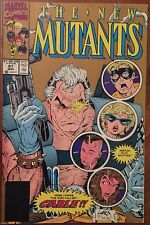 The New Mutants #87 - Black Barcode - Comic Book - From Marvel Comics