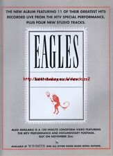 Eagles Hell Freezes Over Album 1994 Magazine Advert#1184